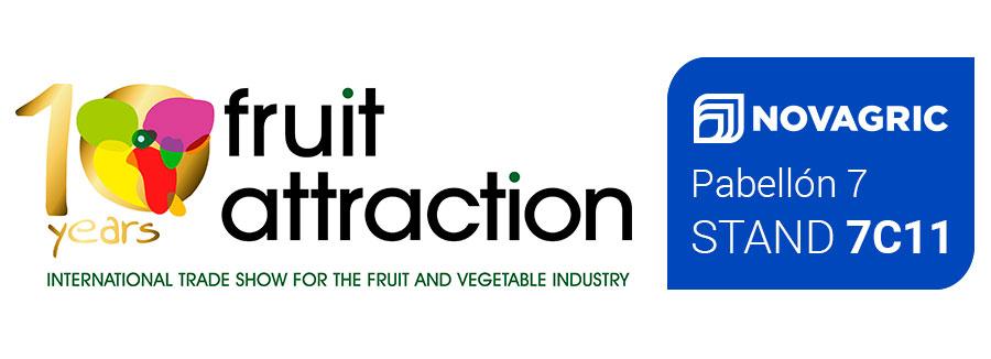 Celebramos nuestro 40 aniversario en Fruit Attraction 2018. Ven a visitarnos