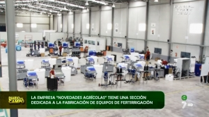 Fábrica de Riego, Clima y Tratamientos de Aguas de Novedades Agrícolas | REPORTAJE 7 TV Región de MURCIA