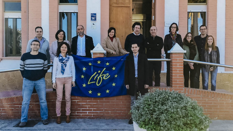 Reunión de supervisión del Proyecto de innovación Life AgRemSO3il