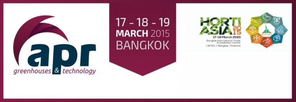 HORTIASIA 2015 FAIR BEGINS IN BANGKOK