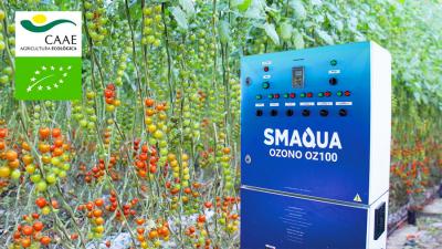 Renuevan la certificación ecológica de los equipos Novagric Smaqua Ozono