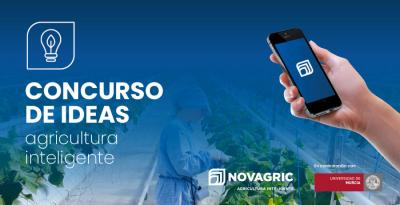 Novagric promueve el primer concurso de ideas sobre agricultura inteligente