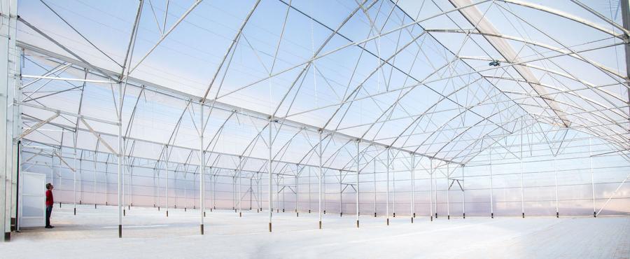 Multitúnel: La solución de los horticultores para contrarrestar el calor del verano.