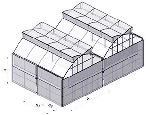 APR gothic greenhouses design