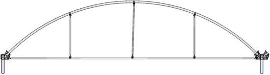 Arcos de invernaderos for Construccion de viveros e invernaderos