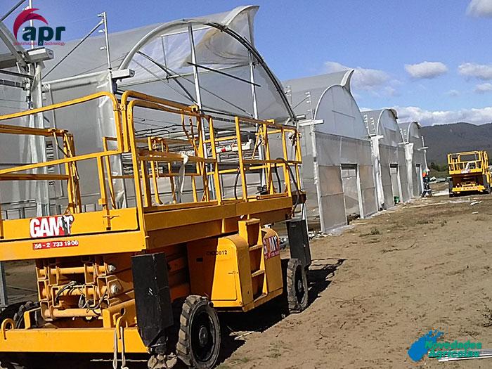 Construcci n de invernaderos viveros en chile for Construccion de viveros