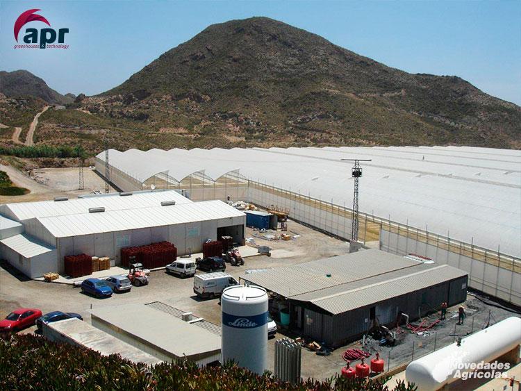 Construcci n de invernaderos multitunel en murcia aguilas - Empresas de construccion en murcia ...