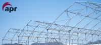 First 14,40 meters Greenhouse Structure. The widest structure for maximum luminosity