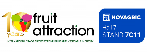 We celebrate our 40th anniversary at Fruit Attraction 2018. Come and visit us
